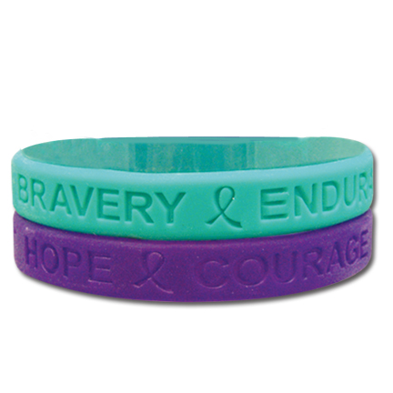 Rush or Small Rubber Bracelet Orders Colors Available